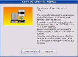 Cara Memperbaiki Printer Canon Ip2770