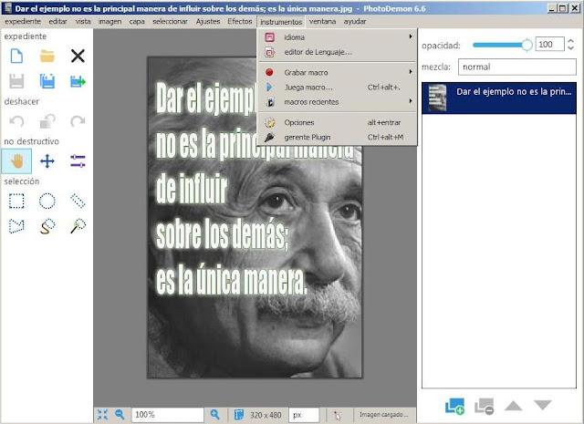 Como obtener rápidamente el editor de imágenes portable gratis