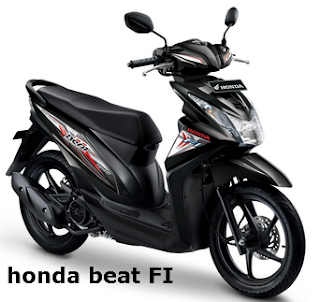 Honda beat FI dan Honda pop