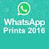 Os melhores prints do whatsapp em 2016