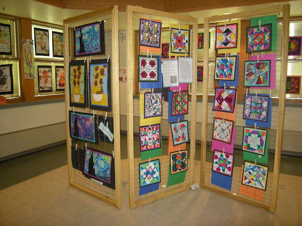 Art Show Display Idea