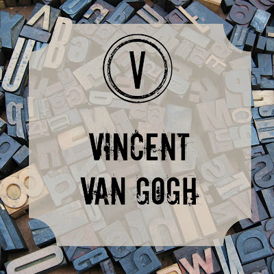 Vincent Van Gogh - Blogging Through the Alphabet on Homeschool Coffee Break @ kympossibleblog.blogspot.com