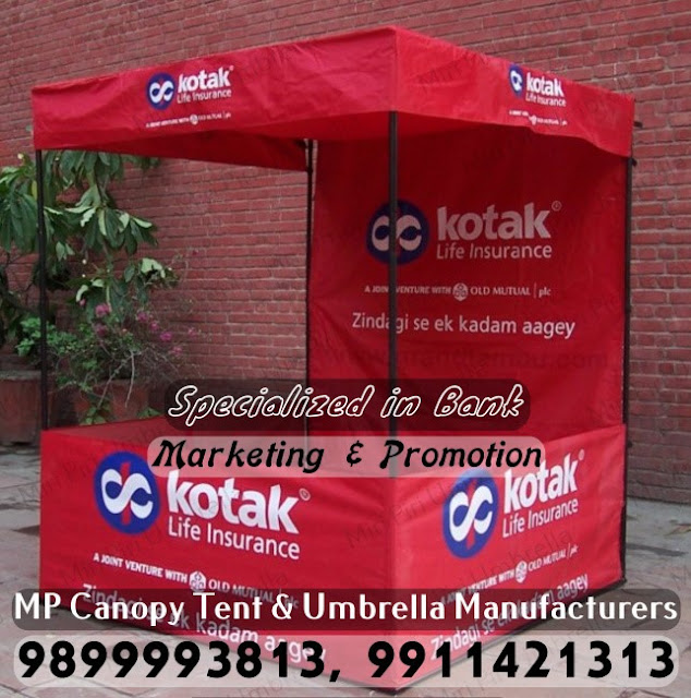 Canopy Tent for Bank Promotion, Canopy Tent for Bank Marketing, Canopy Tent for Bank Advertising, Rain Umbrellas for Bank Promotion, Promotional Monsoon Umbrellas for Bank Promotion, Promotional Printed Umbrellas for Bank Promotion,