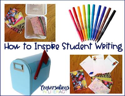 Writing Activities to Inspire Student Writing