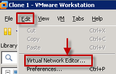 Creating an internal network using VMware Workstation