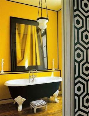 Bathroom+Paint+Ideas-Yellow