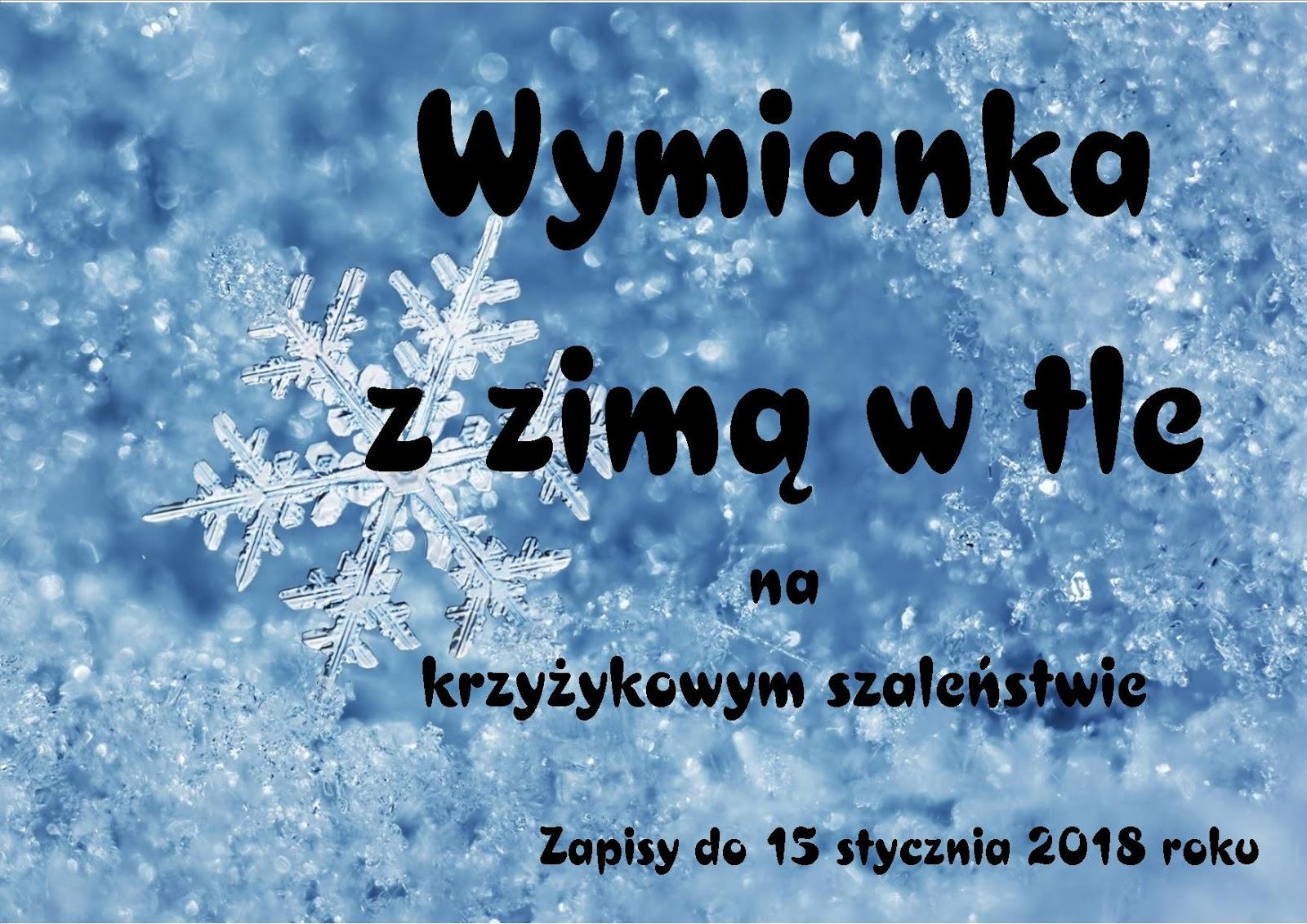 Wymianka z zimą w tle :)