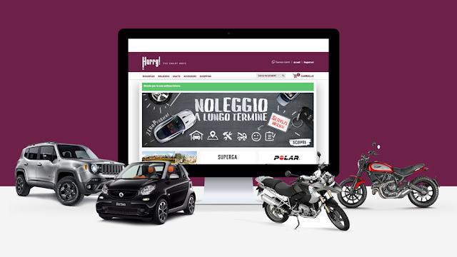 the hurry noleggio a lungo termine auto e moto
