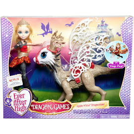 EAH Dragon Games Apple White Doll