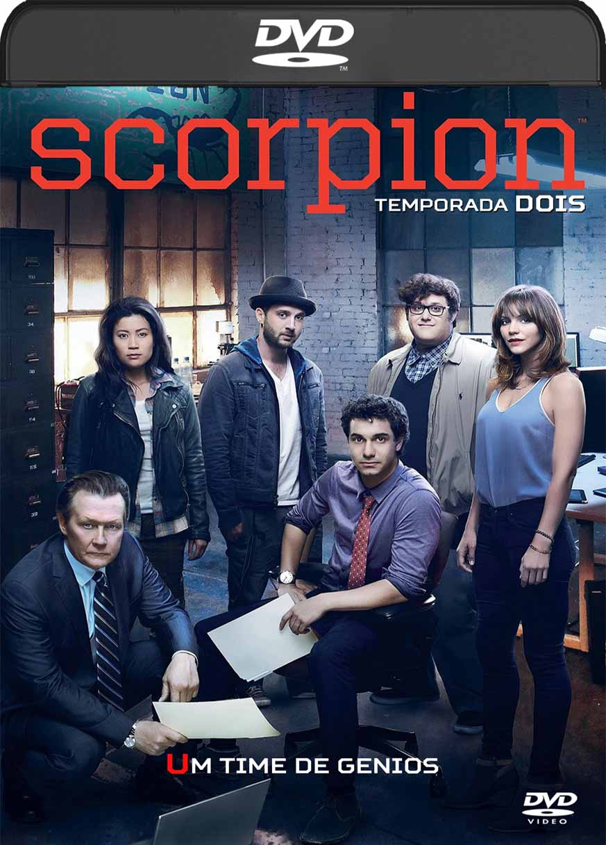 Scorpion 2ª Temporada Completa (2015) DVD-R Autorado