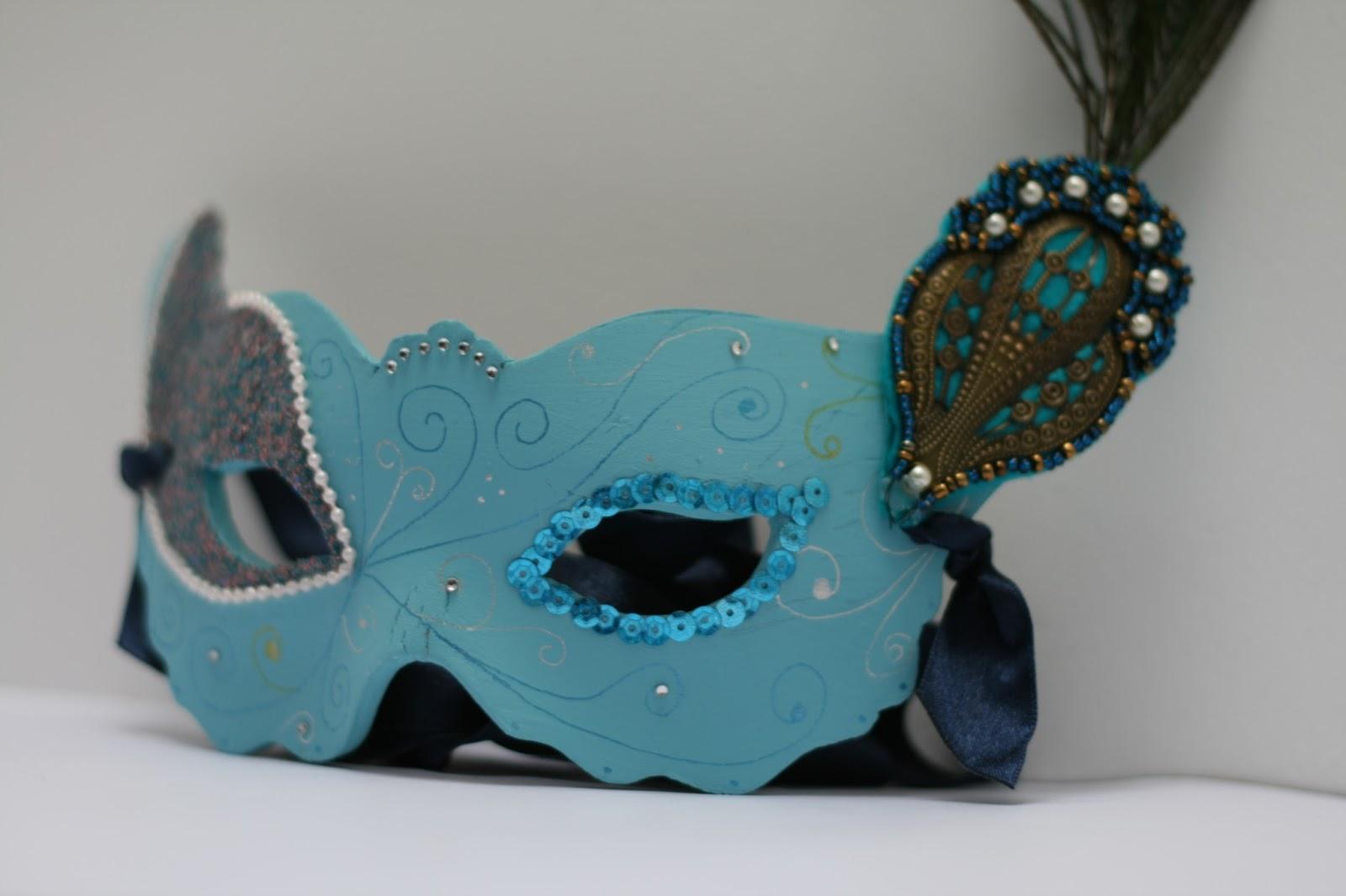 Masquerade Mask DIY - Oh Gosh