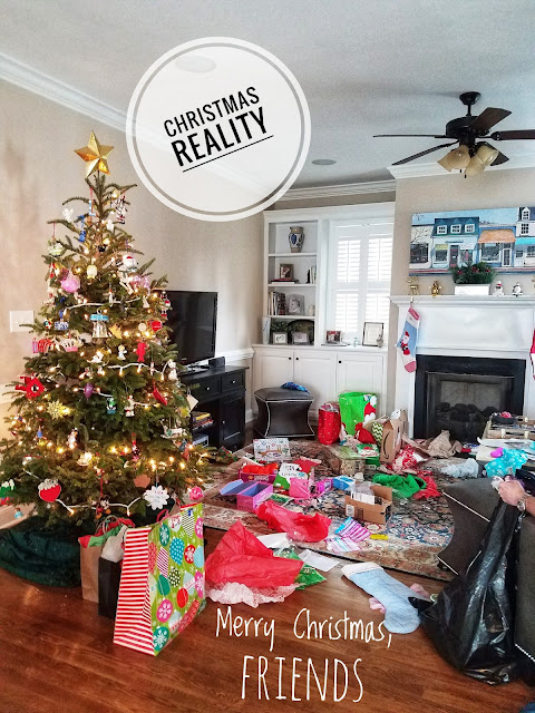 Christmas Reality: The Aftermath of Christmas