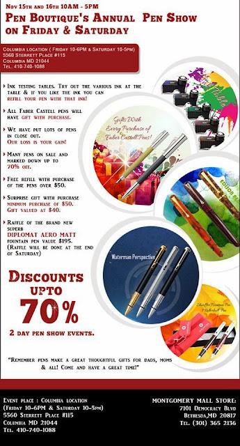 Pen Boutique's Annual Pen Show