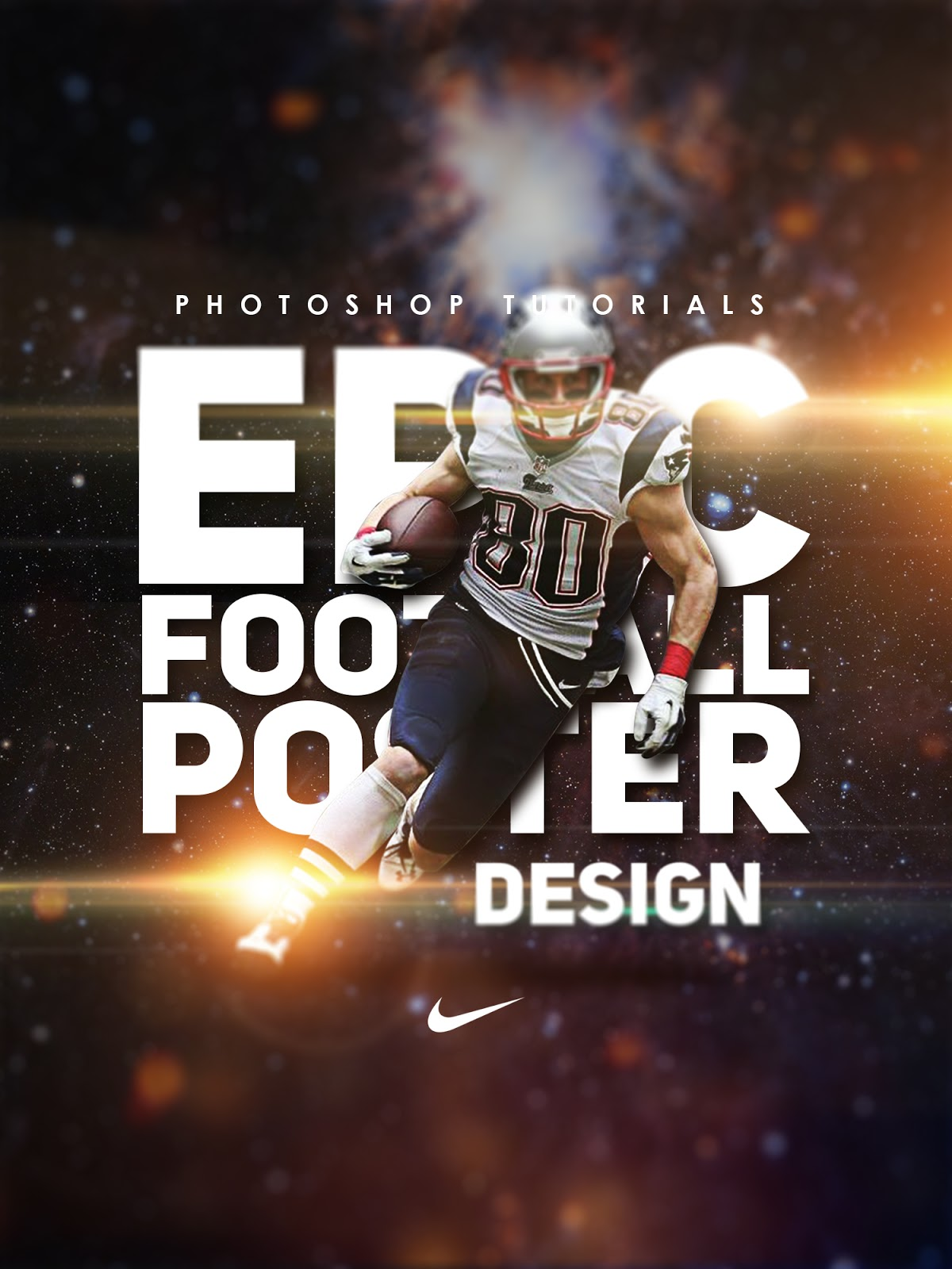Free Download Epic Football Poster Design Psd File