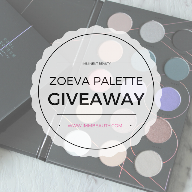 Giveaway Zoeva Cool Spectrum Palette