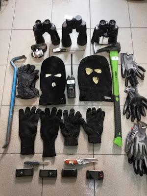 Εξακριβώθηκε η δράση εγκληματικής ομάδας που εμπλέκεται σε πολλές κλοπές από αποθήκες, σπίτια και καταστήματα στην Ημαθία
