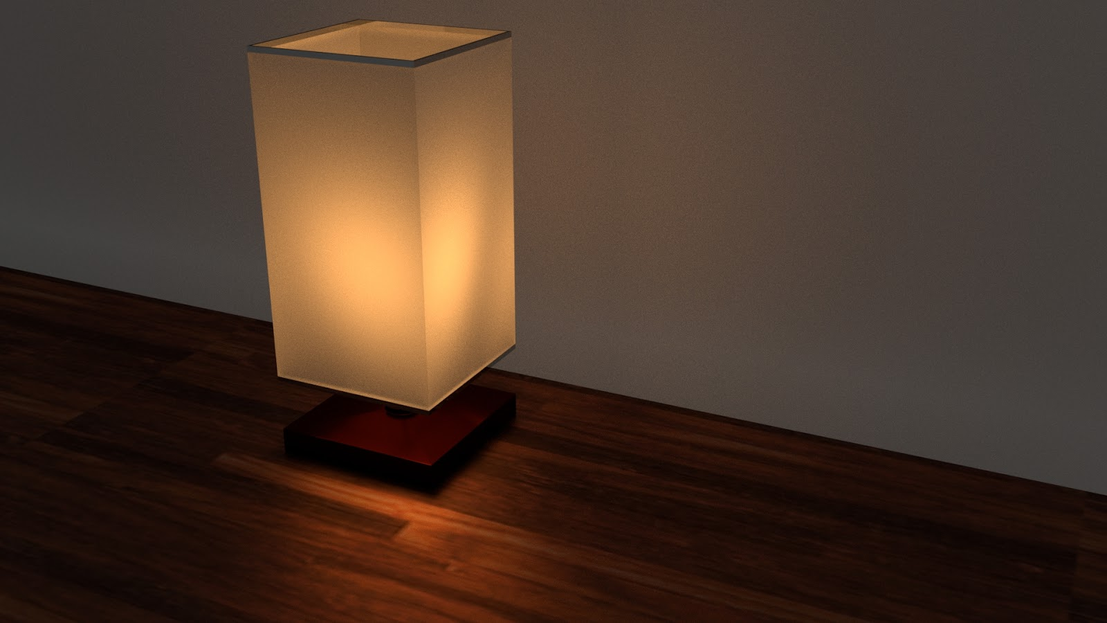 Free 3D Night Lamp .blend file