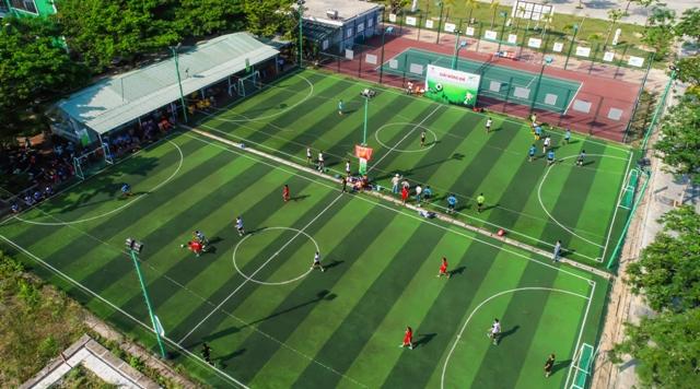 Sân thể thao phục vụ nhu cầu sức khỏe của cư dân