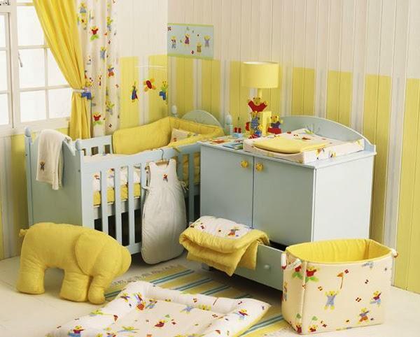 Χρώμα για παιδικό δωμάτιο-κίτρινο