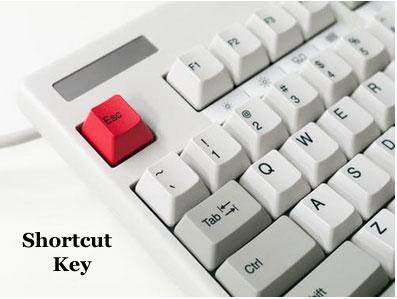 Computer Keyboard Shortcut Key In Hindi