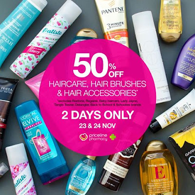 Priceline 50% off Haircare Sale Haul