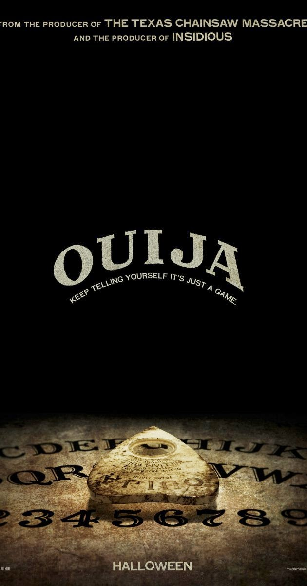 Ouija -- Poster October 24, 2014 | A Constantly Racing Mind