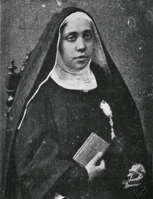 sveta Marija Kristina brezmadežnega spočetja - redovnica in ustanoviteljica