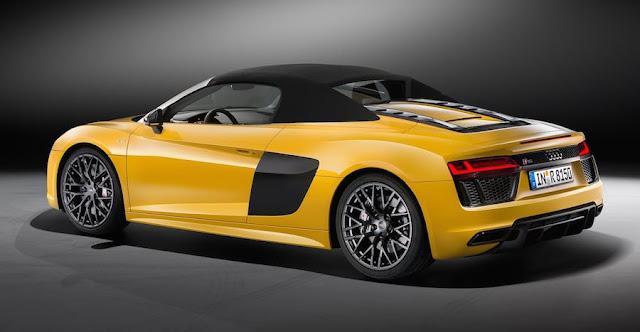アウディ、新型「R8スパイダー V10」を発表!540馬力のオープンスーパーカーに。
