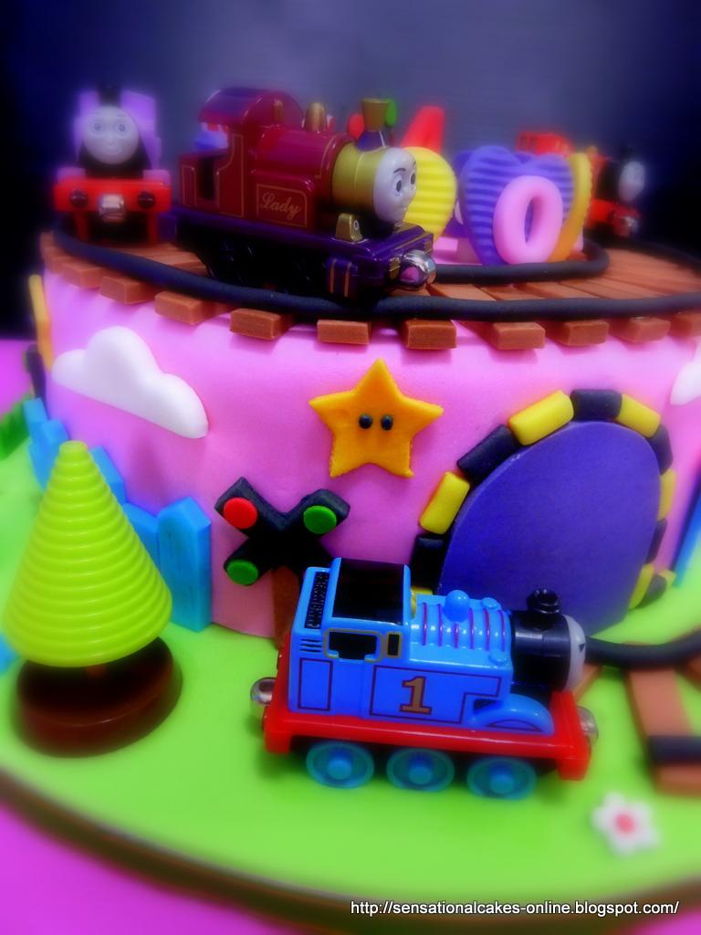 The Sensational Cakes Thomas The Train 3d Train Theme