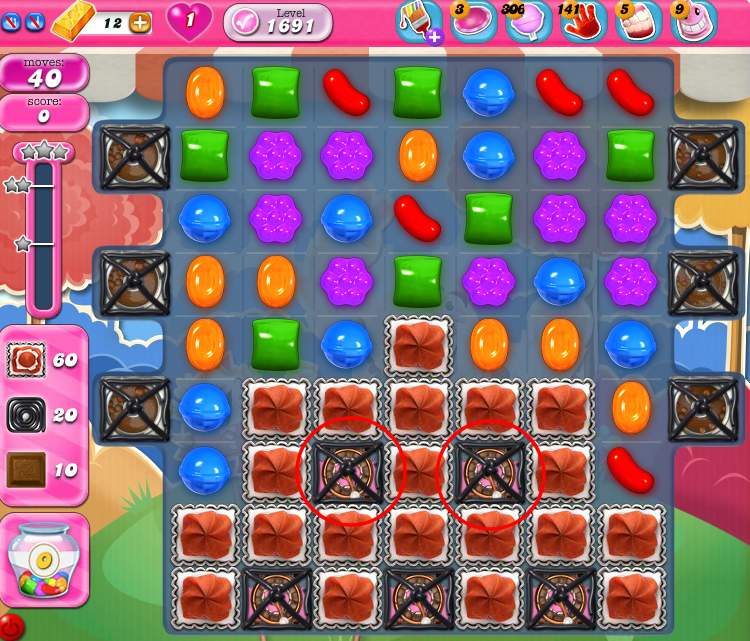 Candy Crush Saga 1691