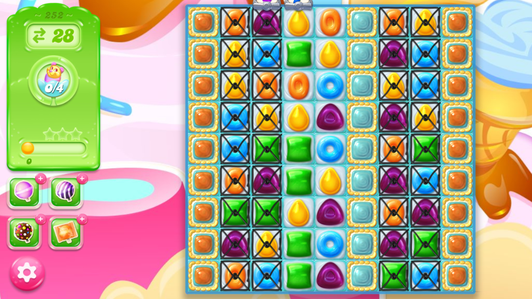 Candy Crush Jelly Saga 252
