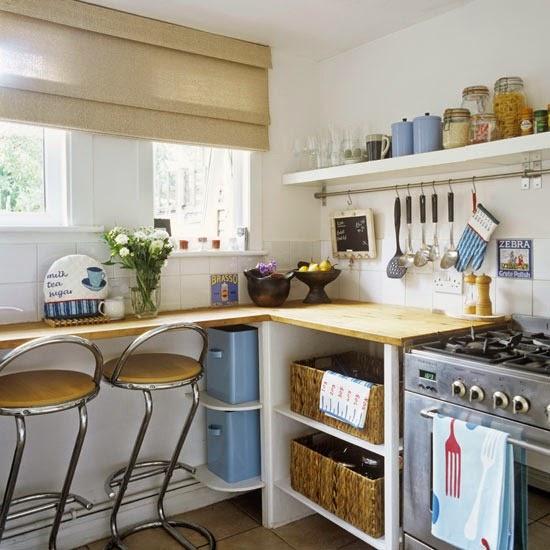 Decotips] 4 Tips para decorar cocinas pequeñas | Decoración