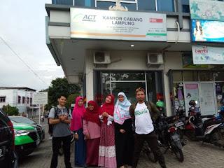ACT Lampung dan Tapis Blogger