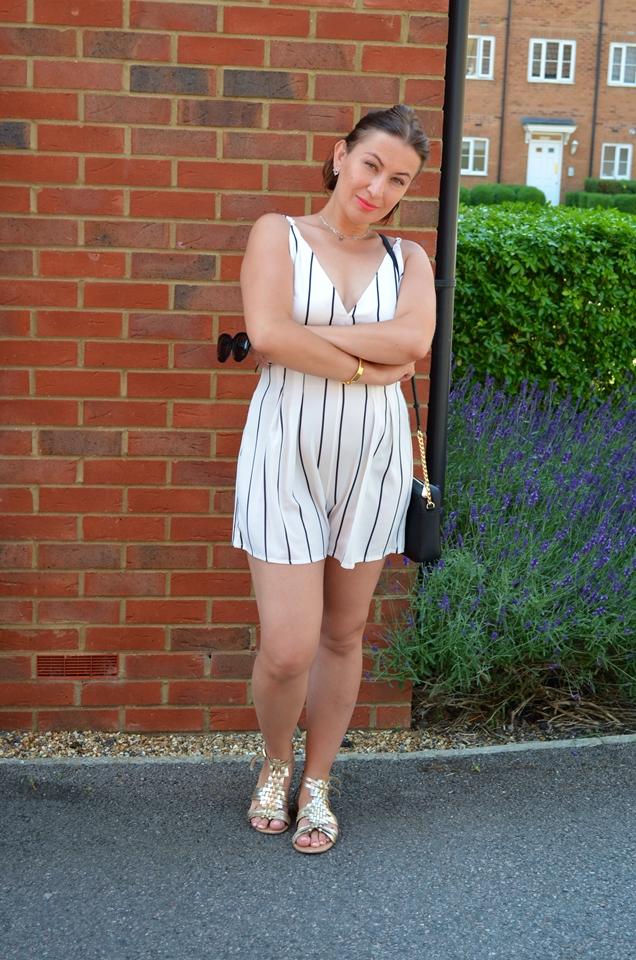 Adriana Style Blog, blog modowy Puławy, Fashion, Kombinezon Zaful, Letnia stylizacja, moda, Recenzja, Review, summer outfit, Zaful Playsuit