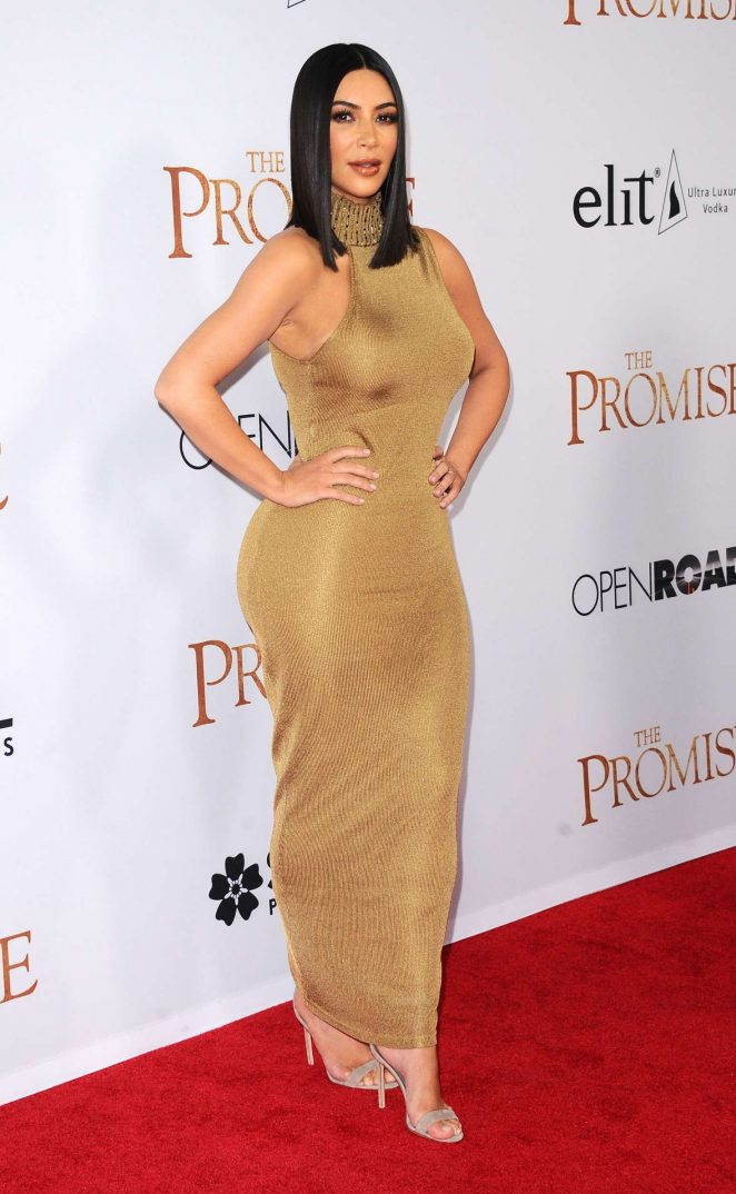 Kim Kardashian – 'The Promise' Premiere in Los Angeles