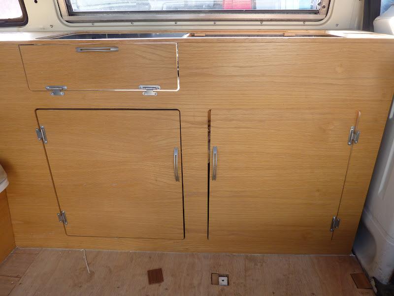 Camper Vans Cabinet Work