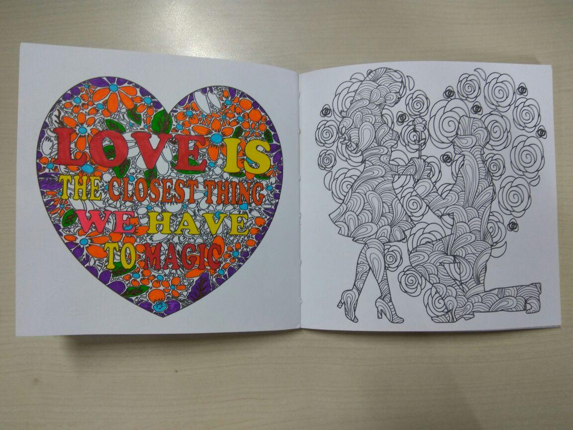 Coloring book untuk dewasa - Bagian Dalam Buku Mewarnai Untuk Dewasa