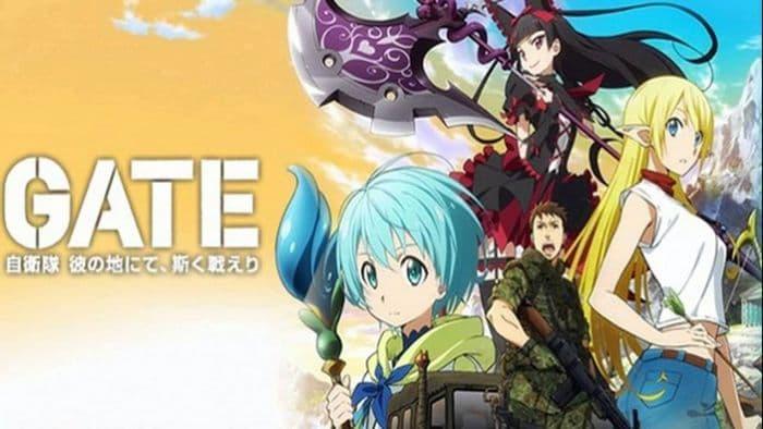 جميع حلقات انمي Gate S2 الموسم الثاني مترجم على عدة سرفرات للتحميل والمشاهدة المباشرة أون لاين جودة عالية HD