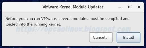Before you can run VMware, several modules must be compiled and loaded into the running kernel.