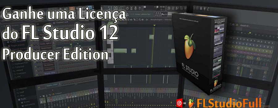 SORTEIO de uma Licença do FL Studio 12 Producer Edition