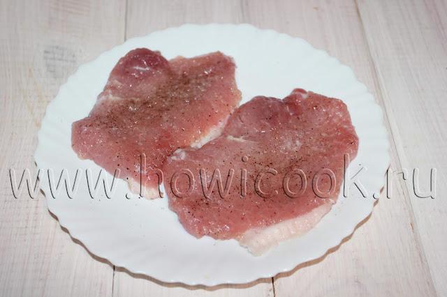 рецепт жареных свиных отбивных по-быстрому с пошаговыми фото