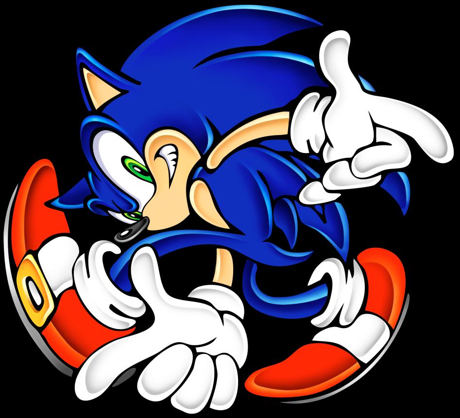 Gambar Kartun Sonic Knuckles: Dibujos De Sonic Para Imprimir