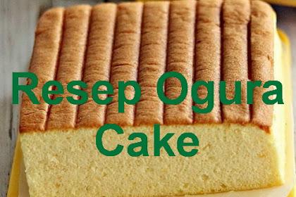 Rasakan Lembut Cake Malaysia dengan Resep Ogura Cake