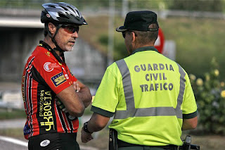 Guardia Civil Tráfico Ciclismo