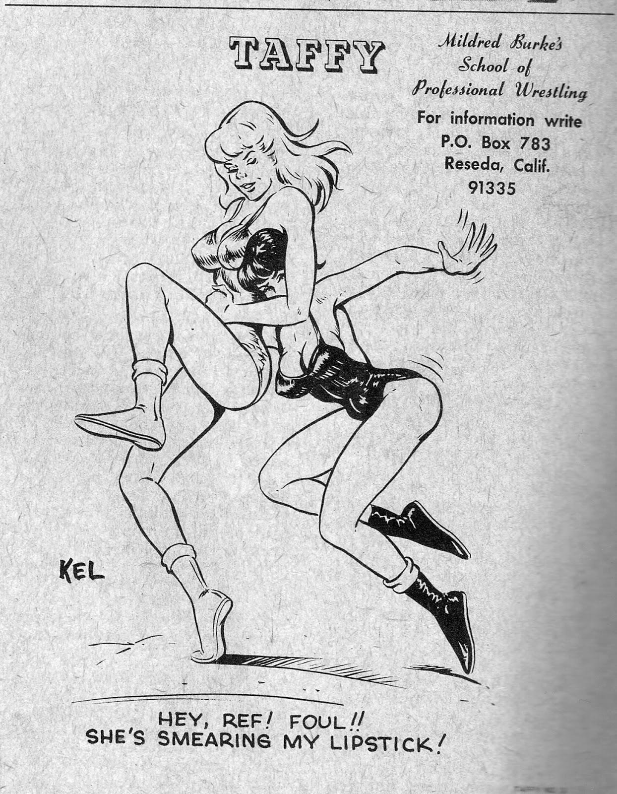 betty and wilma catfight