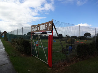 The Crazy Golf course on Southsea Common