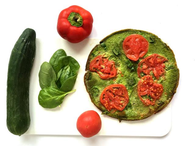 Omlet ze szpinakiem - dietetyczny przepis!