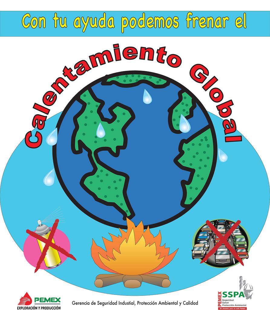 Magnífico Calentamiento Global Para Colorear Viñeta - Enmarcado Para ...