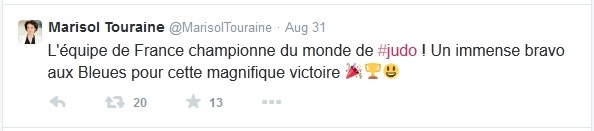 Marisol Touraine tweet
