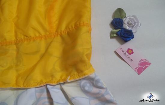 Vestido Estampado de Abelhinha da Ana Giovanna